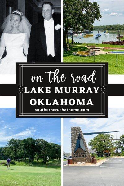 lake murray on the road pin image