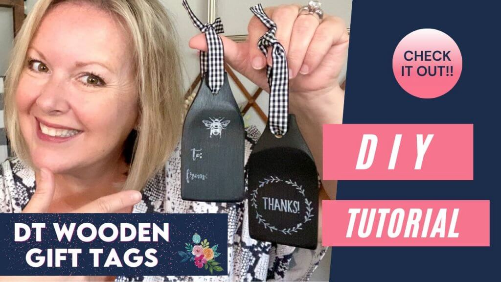 DT Wooden Spatula Gift Tag YouTube thumbnail
