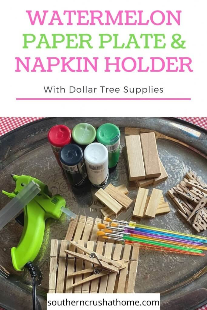 supplies for napkin holder pin image