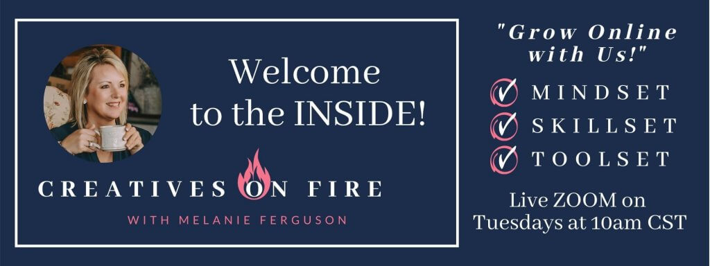 creatives on fire insiders banner