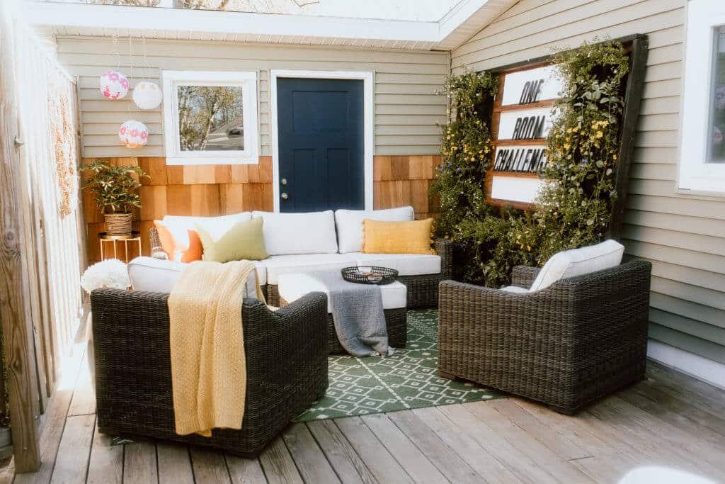 outdoor patio refresh