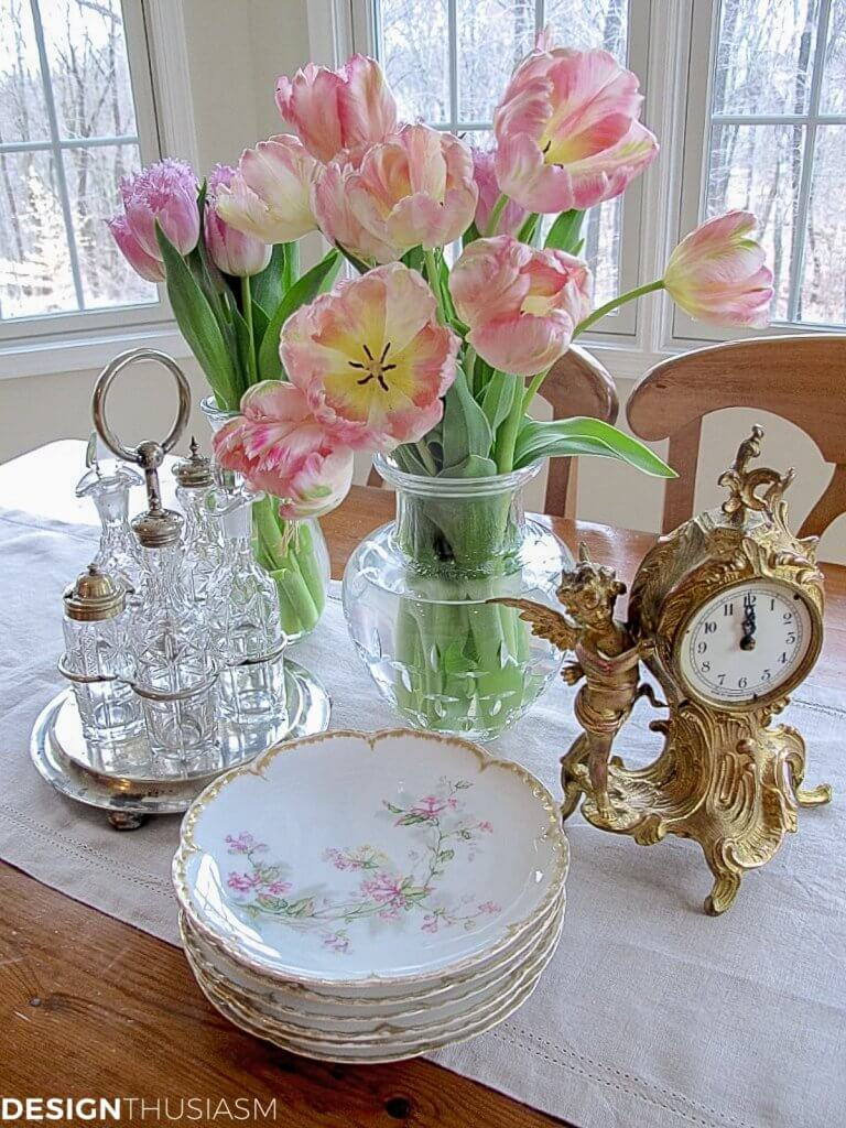 decorating with vintage finds
