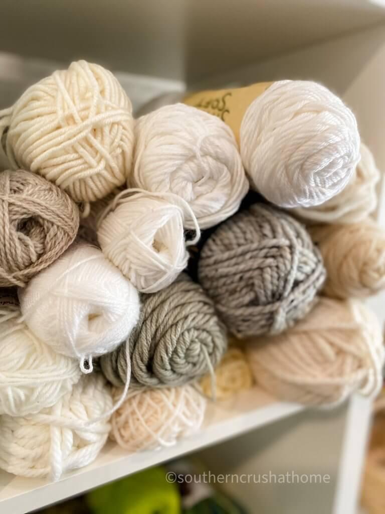 skeens of yarn
