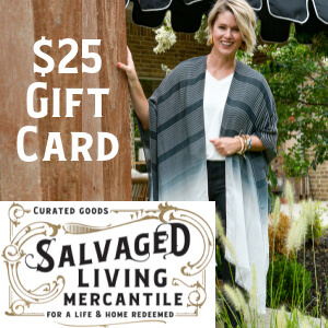 salvaged living gift card