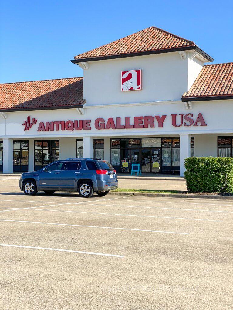 Denton TX the Antique Gallery USA storefront