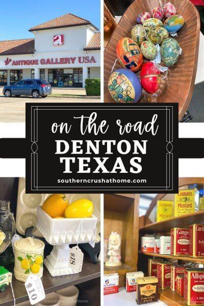 Denton TX Antique Gallery USA PIN