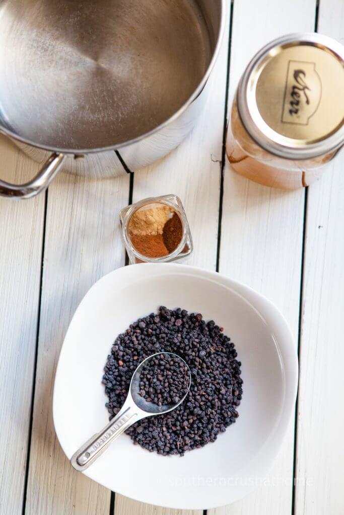 elderberry syrup ingredients