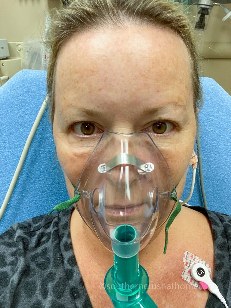 oxygen in hospital with covid