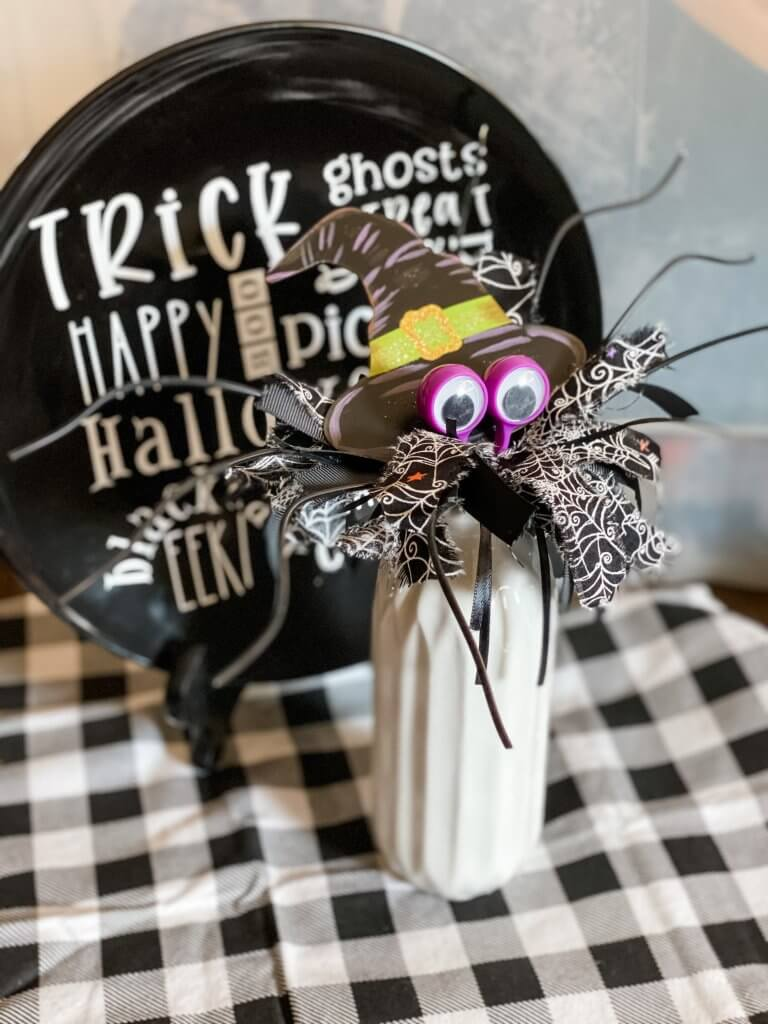 completed whisk spider
