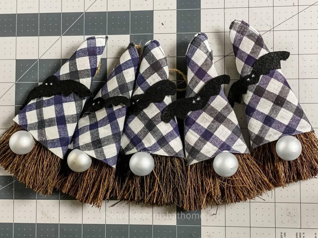 5 broom gnomes