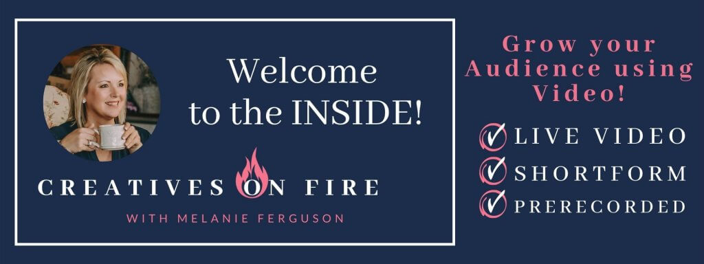 creatives on fire fb group cover image