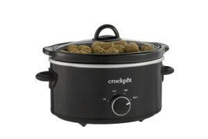 black crockpot