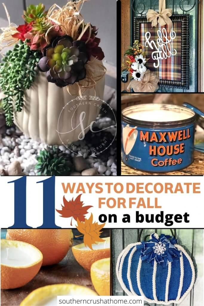 11 ways to decorate for fall PIN