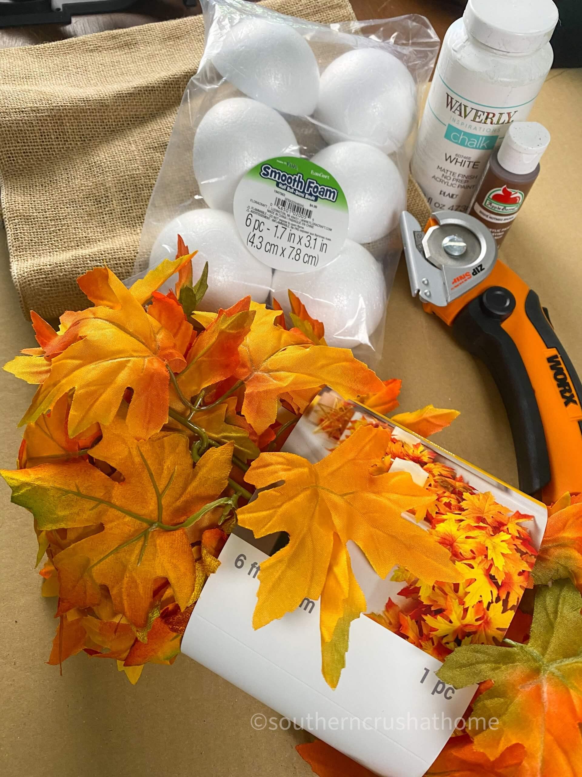 fall gnome supplies