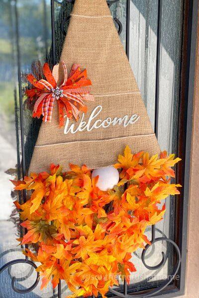 Fall Gnome Door Hanger